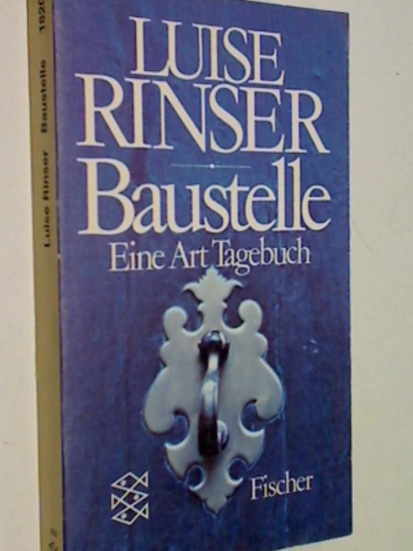 Baustelle : e. Art Tagebuch ;1967 - 70. Fischer-Taschenbücher 1820, 3596218209