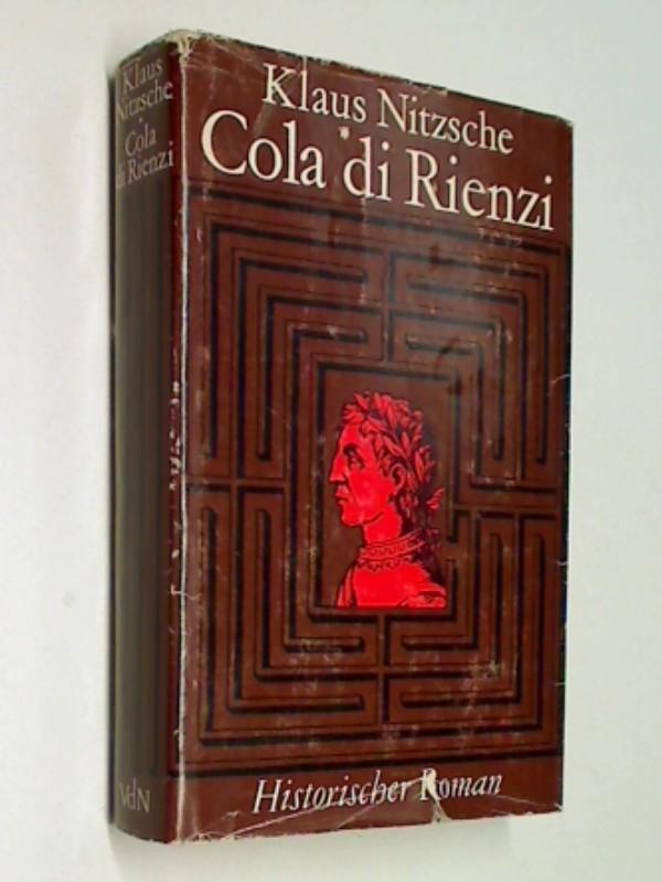Cola di Rienzi : historischer Roman.