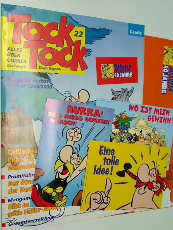 Tock Tock 22 Herbst-Winter 1999/2000 ( Kundenmagazin Ehapa Comic Collection)