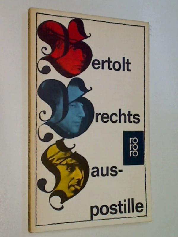 Hauspostille ; rororo Nr. 1159 ; 9783499111594