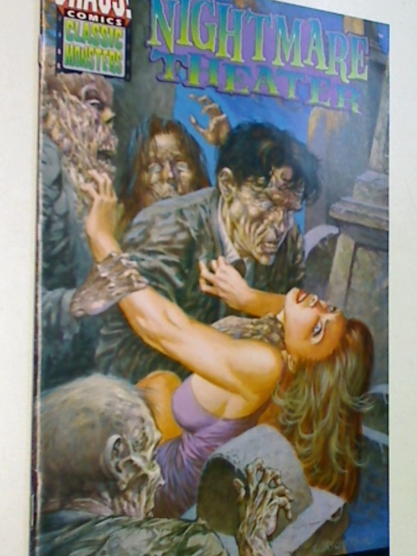 Nightmare Theater 5 The Rules, Nov 1997, Chaos Comics Classic Monsters, US Comic-Heft , Comicbook