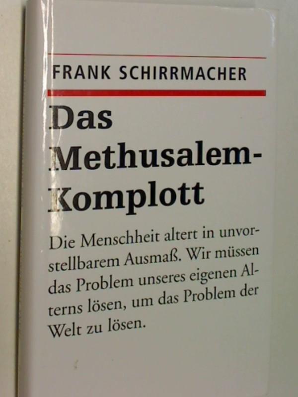 Das Methusalem-Komplott 9783896672254 3896672258