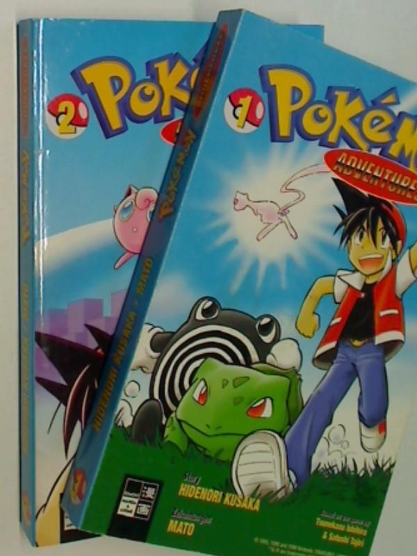 Pokemon Adventures Bd.1 und Bd. 2, EMA Manga Comic , 9783898851954 , 9783898851961