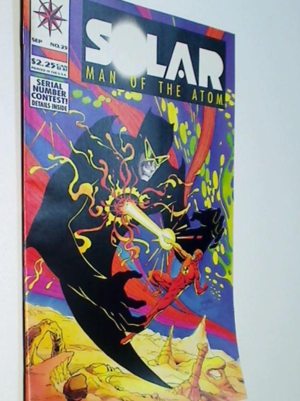 Solar Man of the Atom 25 , Solar Eclipse, Sept 1993,  US Valiant Comic-Heft ,Comicbook,  Erstausgabe