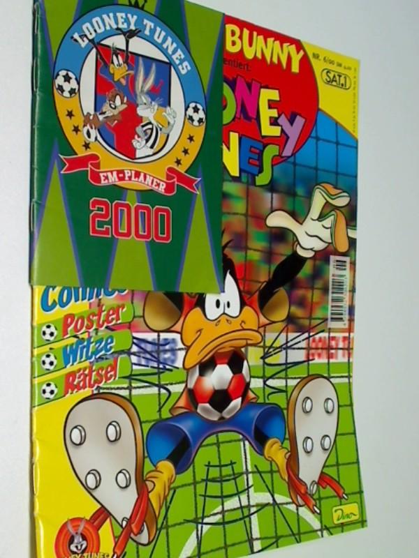 Bugs Bunny präsentiert: Looney Tunes Magazin Nr. 6, 25.5.2000, komplett mit Gimmick EM-Planer & Poster , mit Bugs Bunny, Sylvester, Dino Comic-Magazin , 4394932304203