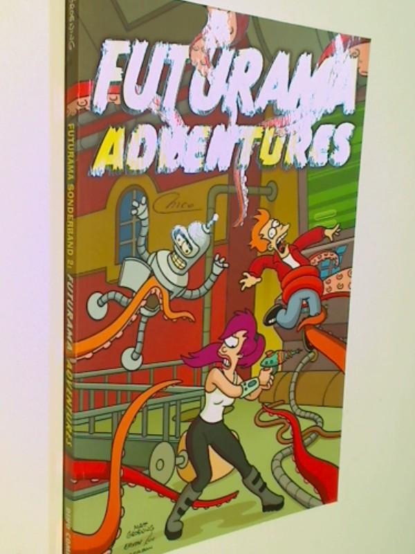 Futurama Sonderband Adventures, Panini Dino Comic, 3833211121 , 4196205409956, 9783833211126