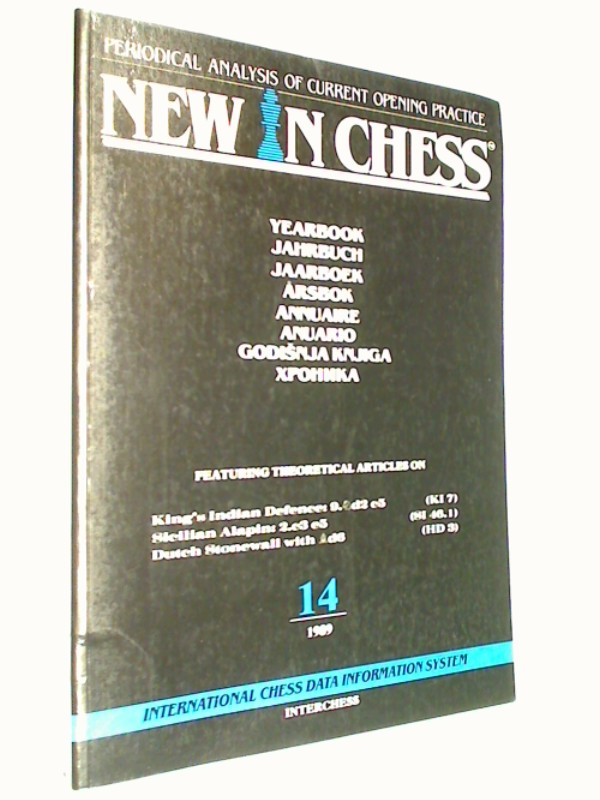 New in Chess Yearbbok Jahrbuch 14 / 1989 Periodical Analysis of current opening Practice. Sicilian Alapin, Dutch Stonewall ( Schach-Buch 9071689204 )