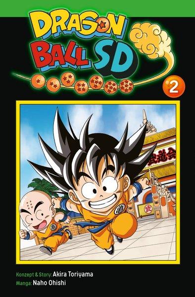 Dragon Ball SD 2, Carlsen Manga Comic