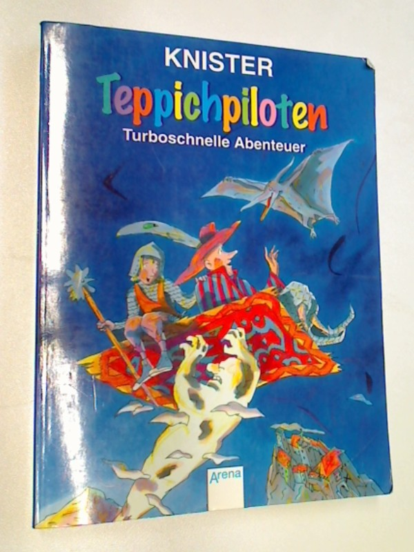 Teppichpiloten : turboschnelle Abenteuer. Sonderausgabe Mit Bildern von Margit Pawle / Arena-Taschenbuch Bd. 2088,  9783401020884