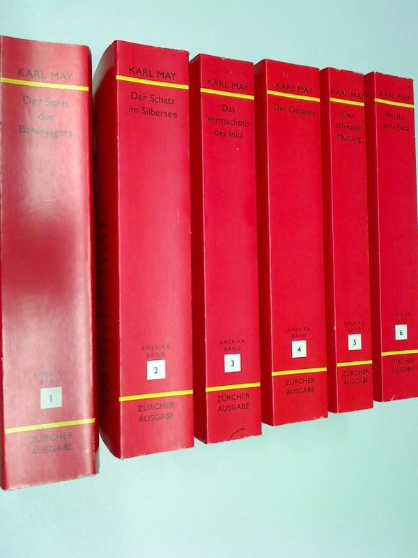 karl mays hauptwerke in 33 bänden. züricher ausgabe, Set Sammlung Konvolut