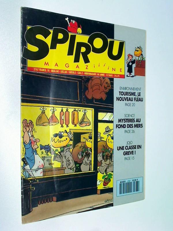 Spirou 2767 mit Les Tuniques Bleues, Sophie , Papyrus, 24.4.1991, Comic-Magazin 3793251009003