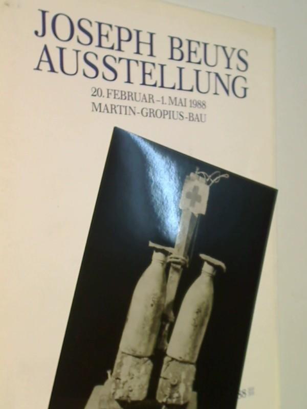 Joseph Beuys Ausstellung 20. Februar - 1. Mai 1988 Martin-Gropius-Bau, Pressemappe