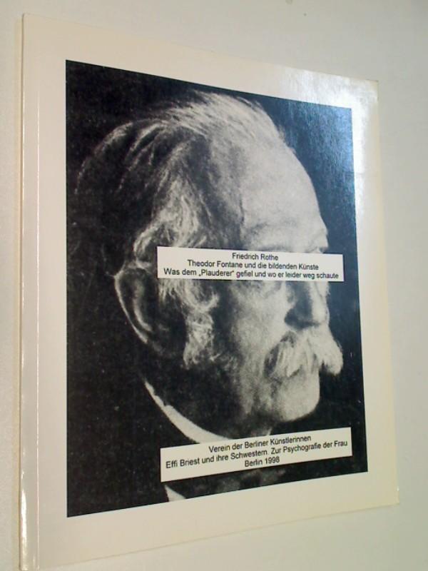7. Mitteilung des Vereins der Berliner Künstlerinnen (1998), mit Widmung / Signatur von Anita Staud