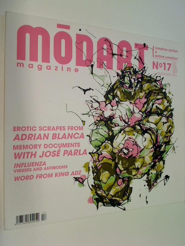 modart magazine No 17  Adrian Blanca, Jose Parla ( Kunst urban art Zeitschrift)
