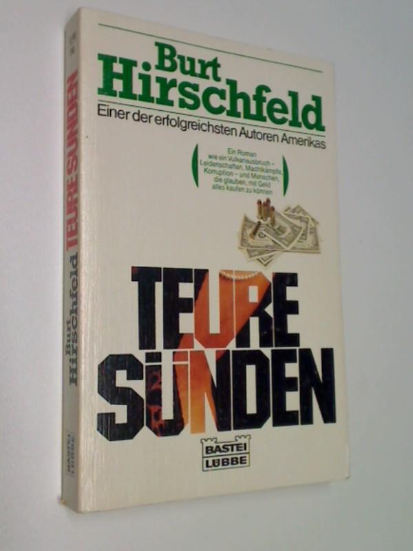 Teure Sünden. Roman, ERSTAUSGABE 1987