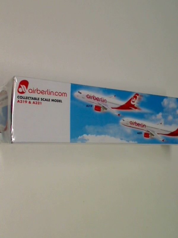 Air Berlin Airplane scale model A319 + A321 1:200 Desk top model, 4892833750278, SMDUO-23