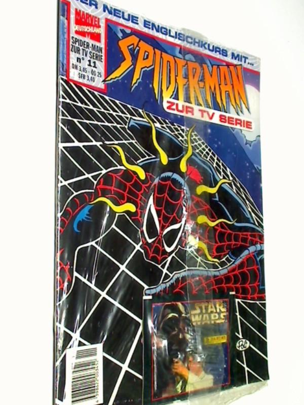 Spider-Man zur TV Serie 11 , mit Star Wars Sammelkarten, Panini Marvel Comic-Magazin, OVP, ERSTAUSGABE 1997