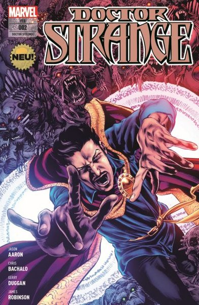 Doctor Strange Bd. 2: Die letzten Tage der Magie (Teil 1 von 2), Panini Marvel Comic-Paperback, ERSTAUSGABE