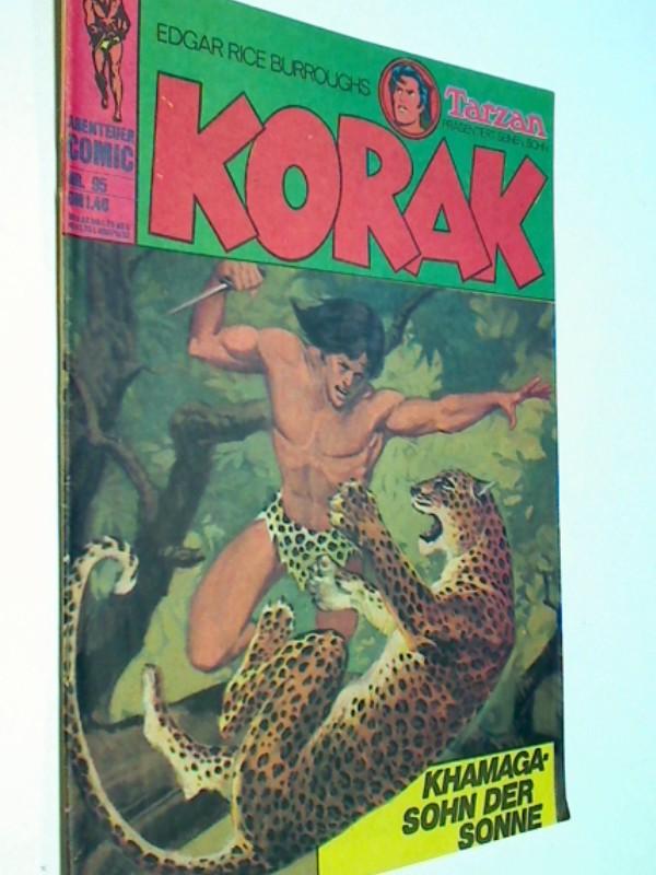 Korak Tarzans Sohn 95, Khamaga - Sohn der Sonne , BSV Williams Comic-Heft, ERSTAUSGABE