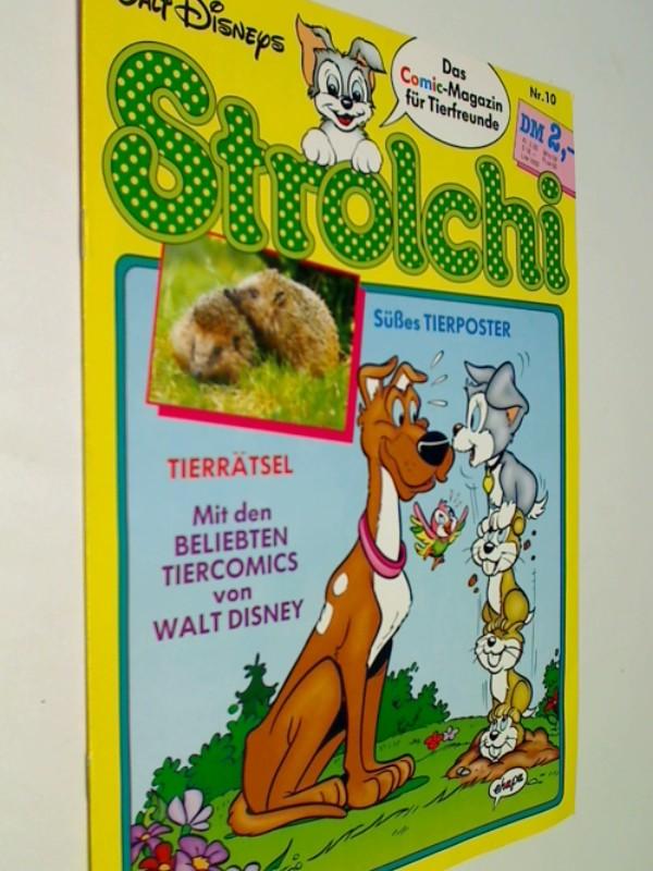 Strolchi Nr. 10 mit der kleine Wolf,  Ehapa Disney Comic-Magazin für Tierfreunde