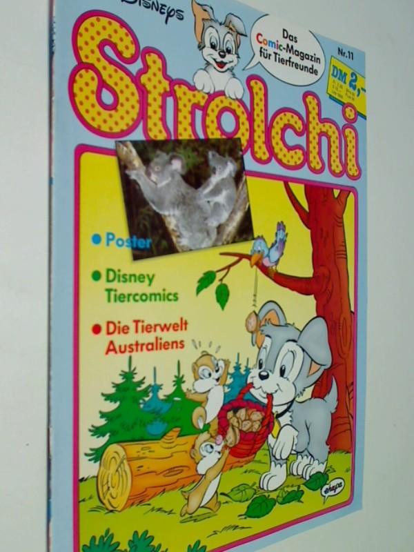Strolchi Nr. 11 mit Pluto, Dumbo,  25.10.1990  Ehapa Disney Comic-Magazin für Tierfreunde