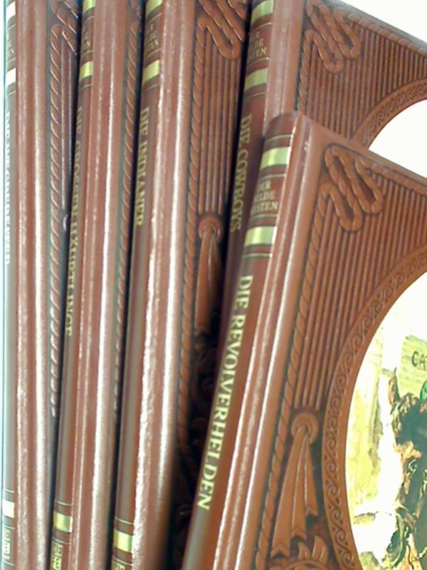 Der Wilde Westen. 5 Bände : Die Indianer / Die Cowboys /  Die grossen Häuptlinge / Die Wegbereiter / Die Revolverhelden. Set Sammlung Konvolut
