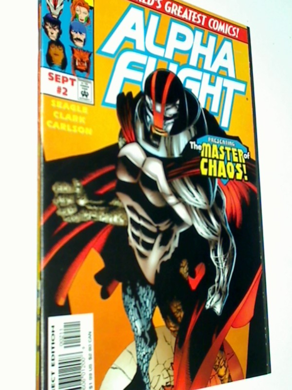 Alpha Flight # 2, Cover B,  US Marvel Comic-Heft, Modern Age,  ERSTAUSGABE Sept 1997 , 759606012008