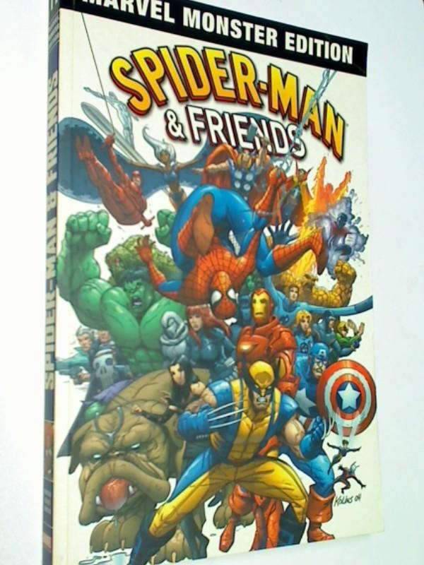 MARVEL MONSTER EDITION 11, SPIDER-MAN & Friends, Panini Paperback, ( Marvel team Up 1- 10) 4196115020005