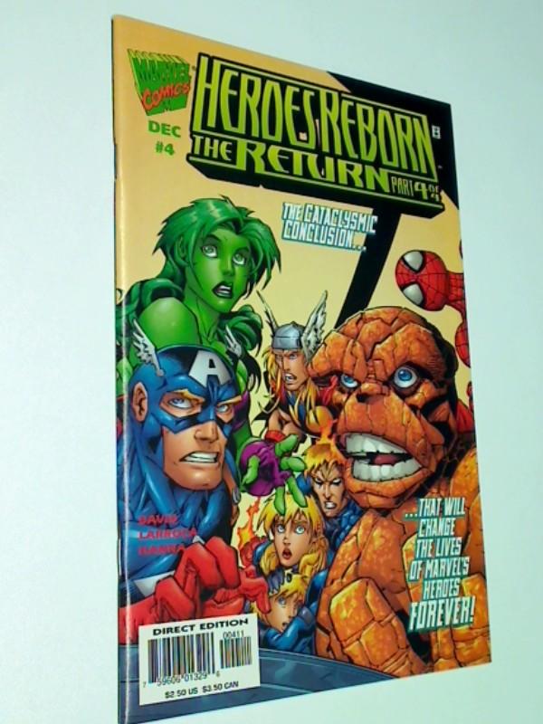 Heroes Reborn: The Return # 4, ERSTAUSGABE 1997, US Marvel Comic-Heft, 759606013296