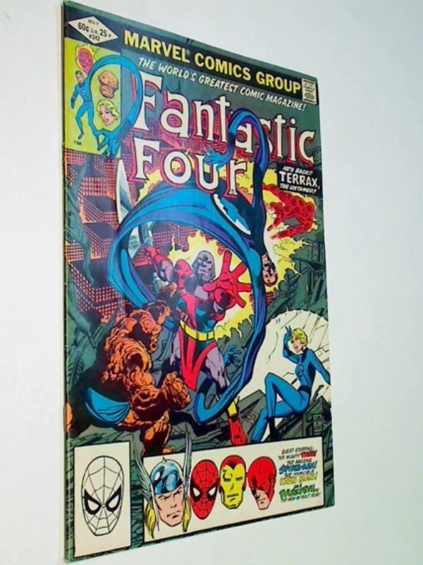 Fantastic Four 242 Terrax the Untamed, mit Thor, Iron-Man, Daredevil, Spider-Man,  US Marvel Comic-Heft, ERSTAUSGABE May 1982,