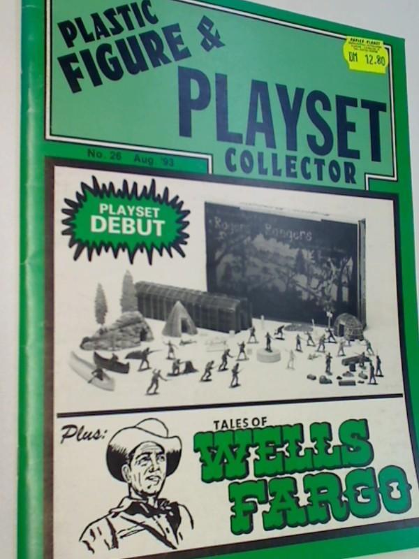 Plastic Figure & Playset Collector 1993 No. 26 Tales of Wells Fargo, Roger s Rangers,  US- Magazine