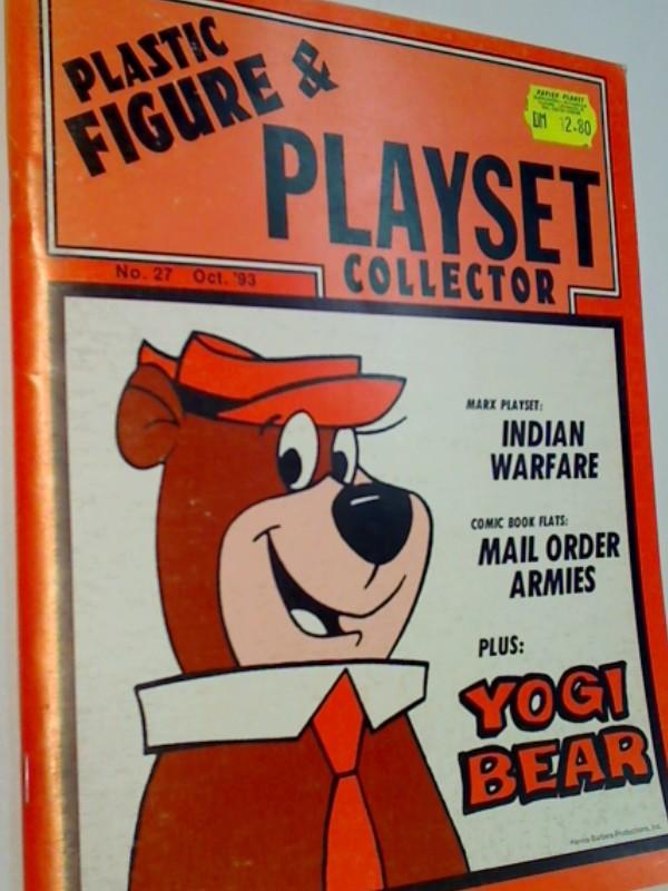 Plastic Figure & Playset Collector 1993 No. 27 Yogi Bear, Marx Playset: Indian Warfare,   US- Magazine