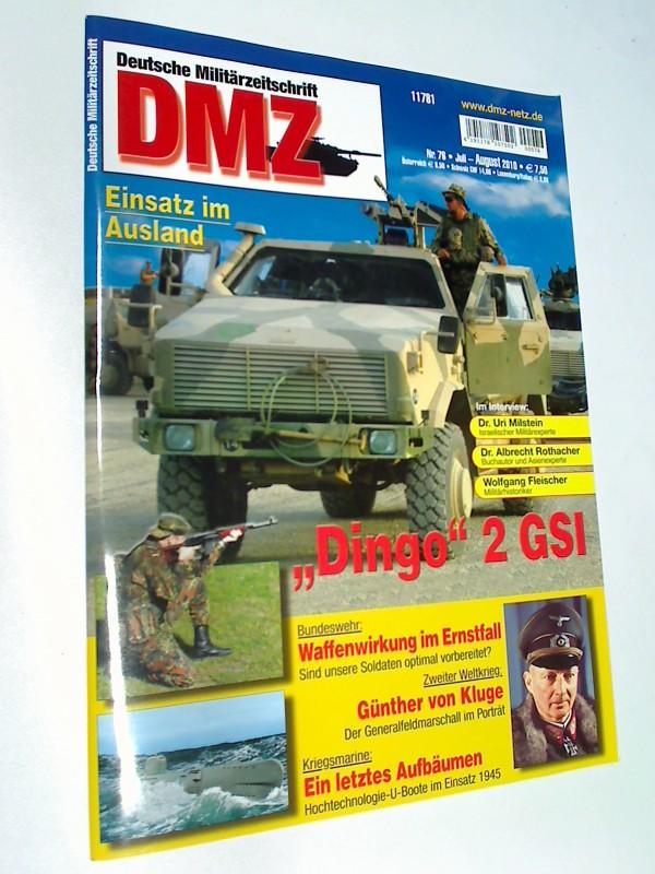 DMZ Deutsche Militärzeitschrift 2010 Heft 76 Günther von Kluge,