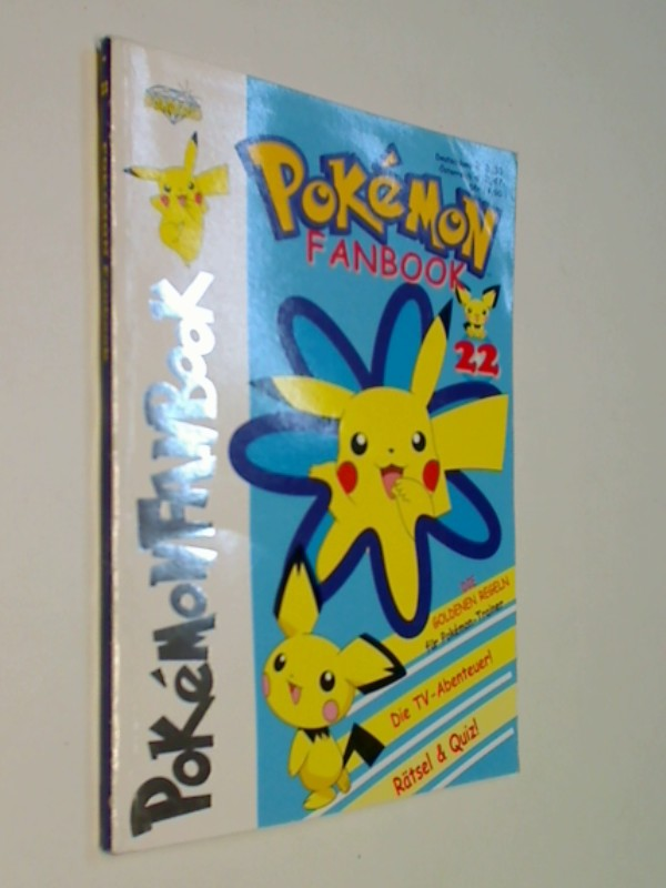 Pokemon Fanbook Nr. 22,  mit 4 Special Cards, ERSTAUSGABE 2002, Diamond Publishing