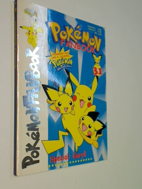 Pokemon Fanbook Nr. 31,  mit 4 Special Cards, ERSTAUSGABE 2003, Diamond Publishing