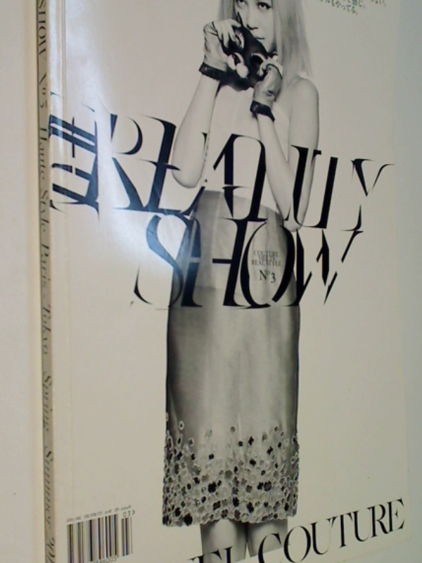 The Reality Show No 3 Haute Style Paris-Tokyo  - Chanel Couture Spring / Summer 2012,  ( Zeitschrift Magazin) , 9772186896005