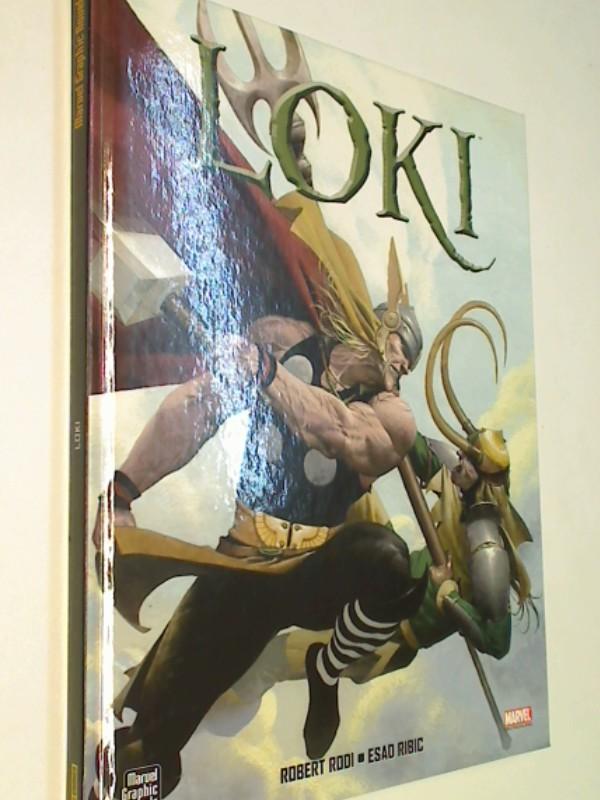 Loki. Panini Marvel Graphic Novels,  Comic Hardcover, ERSTAUSGABE 2005, 4196007115956 , 3899219325