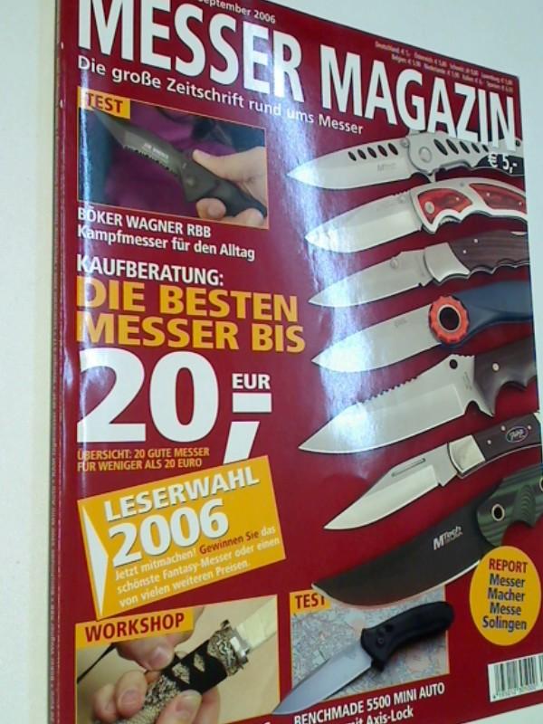 Messer Magazin Nr. 4 / 2006 Test: Böker Wagner RBB Kampfmesser für den Alltag, Zeitschrift rund ums Messer. 4195012305000