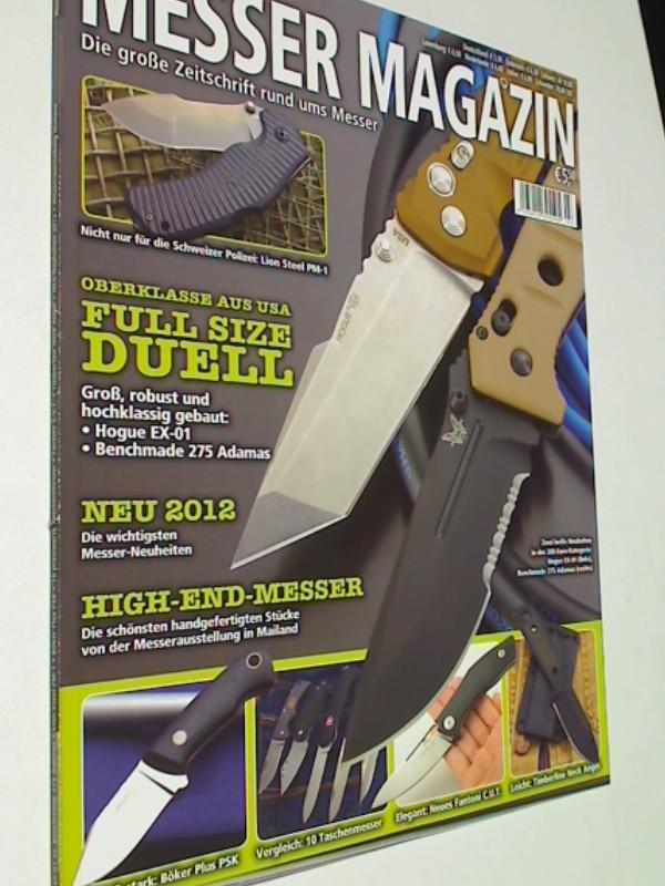 Messer Magazin Nr. 3 / 2012  Lion Steel PM-1, Hogue EX-01, Benchmade 275 Adamas, Böker Plus PSK. Zeitschrift, 4195012305505