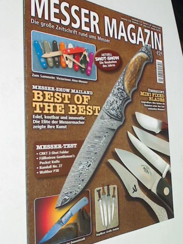 Messer Magazin Nr. 2 / 2013  Test: CRKT 2-Shot Folder, Fällkniven Gentleman's Pocket Knife, Randall No.27, Walther P38. Zeitschrift 4195012305505