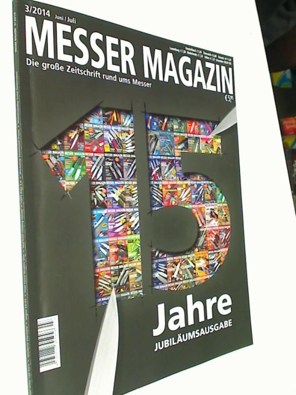 Messer Magazin Nr. 3 / 2014 Historie: Barlow-Messer. Zeitschrift 4195012305505
