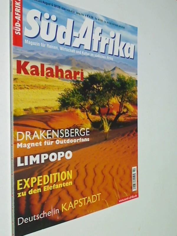 Süd-Afrika Heft 2 / 2004 Special: Kalahari;  Drakensberge : Magnet für Outdoorfans ; Limpopo, Magazin für Reisen, Wirtschaft und Kultur im südlichen Afrika. Zeitschrift 4390377708002