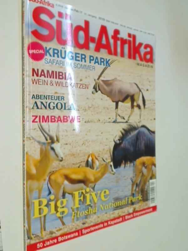 Süd-Afrika Heft 4 / 2016 Krüger Park: Safari im Sommer, Angola, Namibia : Wein & Wildkatzen, Zimbabwe, Magazin für Reisen, Wirtschaft und Kultur im südlichen Afrika. Zeitschrift 4390377708002