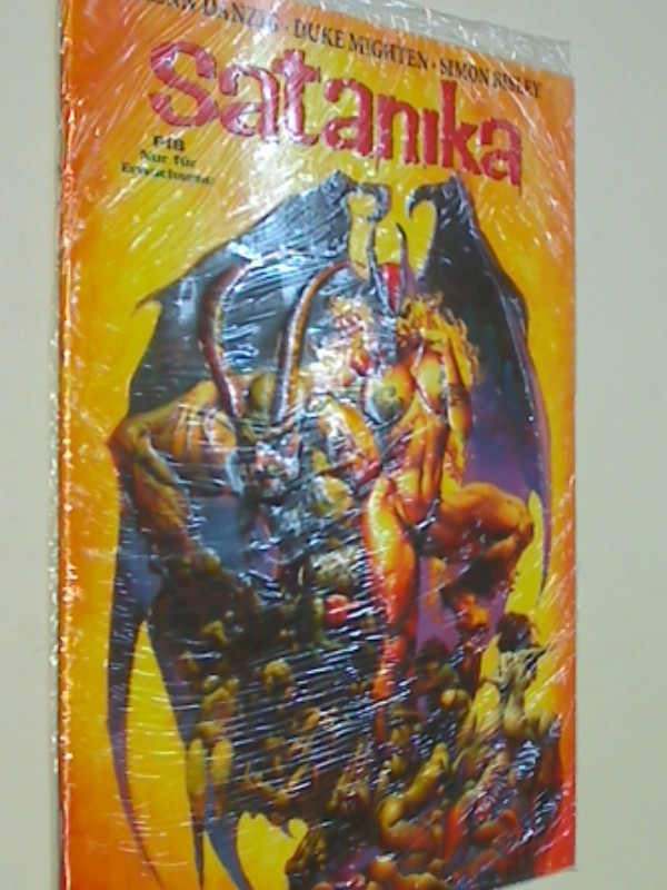 Satanika 1 , Variant Cover Edition ( geprägtes Cover) Edition, EEE Comic-Heft, ERSTAUSGABE Januar 1999