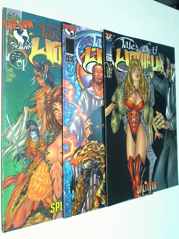 Tales of the Witchblade 1, 2, 3 ( 1 bis 3 komplett) Splitter Image Top Cow Comic-Heft, ERSTAUSGABE 1998, 4394299505909