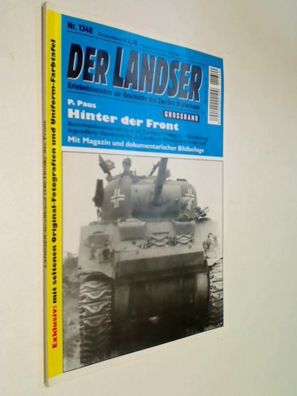 Der Landser Grossband 1340 Hinter der Front,  Pabel Roman-Heft, 2012
