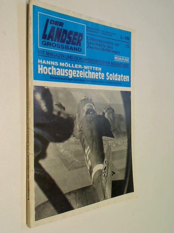 Der Landser Grossband 715 Hochausgezeichnete Soldaten,  Pabel Roman-Heft, 1988