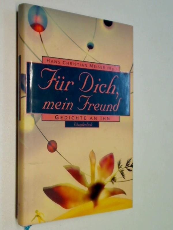 Meiser, Hans Christian [Hg.]: Für Dich, mein Freund. Gedichte an Ihn