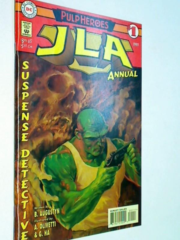 JLA Annual # 1 Pulp Heroes,  US DC Comic-Heft, ERSTAUSGABE 1997, 761941210209