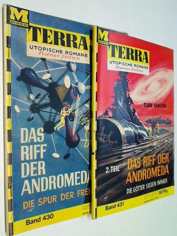 Terra Utopische Romane Bd.430, 431 Das Riff der Andromeda, Moewig Science Fiction Roman-Heft   (1965)